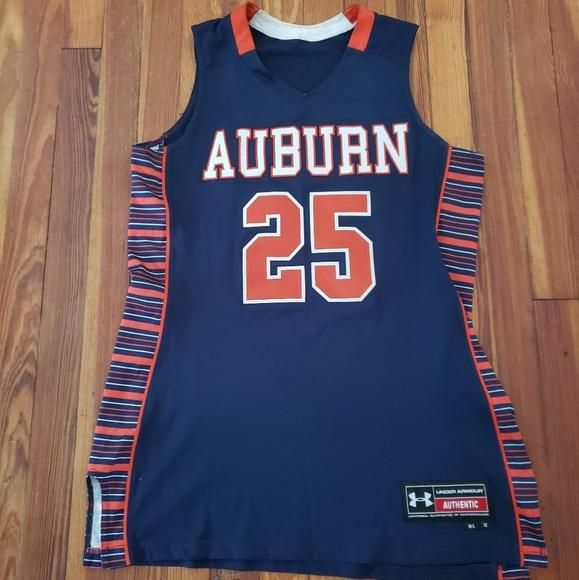 Auburn Tigers Basketball Jersey Under Armour Blue
